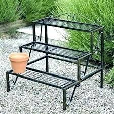outdoor plant table 3 tier plant stand outdoor plant table outdoor metal plant stands tiered metal