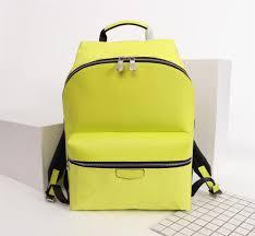 Yellow Designer Backpack Designer 2019 New Designer Famous Brand Handbag Luxury Designer Backpack Leather Designer Bag Size 40 37 20cmm33450 33452
