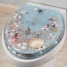 gold foil toilet seat. s toilet seat fun for a beach house bath gold foil