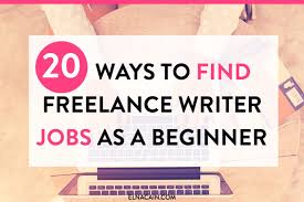 ways to lance writing jobs as a beginner elna cain are you interested in working from home and becoming a lance writer