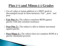 Mmt Grades Manual Muscle Testing Ppt Video Online Download