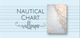 Nautical Chart Wallpaper The House House