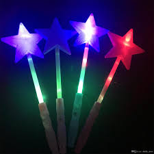 Led Christmas Light Sticks Led Light Stick Five Pointed Star Flash Sticks Glowing In The Dark Toys For Concert Performance Props Super Glow Sticks Glow In The Dark Light Sticks