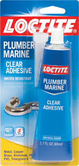 Plumber and Marine Clear Adhesive