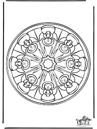 Immagini Di Mandala Az Colorare