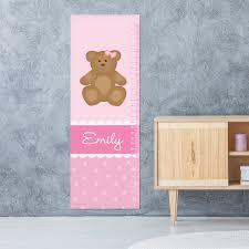 Teddy Bear Chart A Sweet Teddy Bear Growth Chart