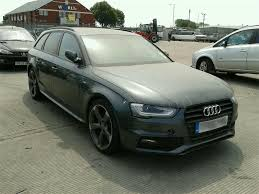 black audi a4 2015. audi a4 2012 to 2015 s line black edition 5 door estate breaking for parts