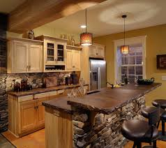 Rustic Kitchens Designs Rustic Kitchen Backsplash Tile Home And Interior
