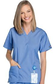 cherokee iron works t shirt cherokee workwear originals womens v neck 2 pocket solid scrub top