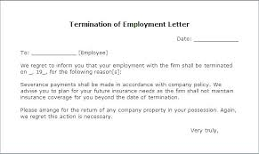 How To Write A Termination Letter To An Employee Amazing Cancel Contract Template Homefit