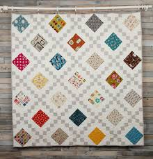 935 best images about Quilts on Pinterest & Like the use of bright squares and neutral chain links in this Irish Chain  Quilt Adamdwight.com