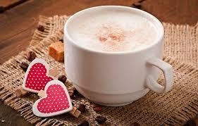 coffee love heart. Exellent Love Photo Wallpaper Love Heart Coffee Milk Cup With Coffee Love Heart