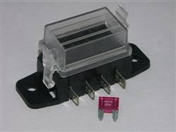 fuse box 4 way mini blade fha20104 electrical car services fuse box 4 way mini blade fha20104