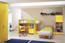 charming kid bedroom design. Charming Ideas For Kid Bedroom Paint Color Schemes : Beautiful Yellow Themed Design M