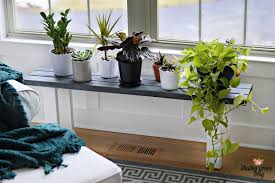 Picture Of easy diy plant stand bench to make 1
