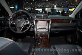 toyota camry 2014 interior. 2015 toyota camry interior at the 2014 moscow motor show