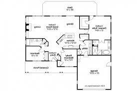 Great Ranch House Plans Bedrooms One Story Style Plan Split Bedroom Stunning