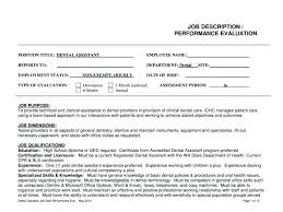 Sample Employee Evaluation Forms Job Performance Form 7 Documents In