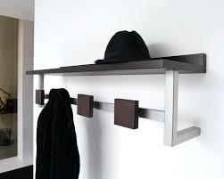 Dark Wood Coat Rack Inspiration White Wall Coat Hangers White Wooden Wall Mounted Coat Rack Hooks