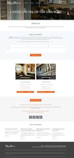 Website Design Charlottesville Va Law Firm Contact Page Paperstreet Contact Us Page Design