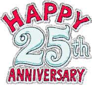 Happy 25th Anniversary GIFs   Tenor