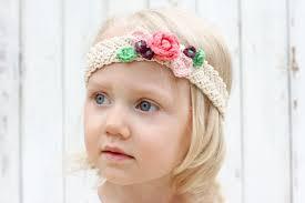 Crochet Flower Pattern For Headband Interesting Free Crochet Flower Headband Pattern Baby Toddler Adult