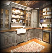 rustic kitchen cabinets. Lovable Rustic Kitchen Ideas On A Budget With Vintage Cabinets
