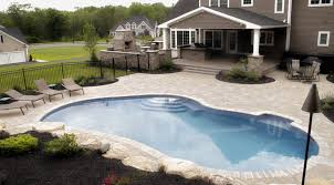 awesome pools patios and porches bright lights color