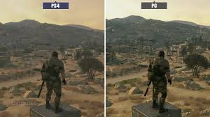 Metal Gear Solid V Phantom Pain Ps4 Vs Pc