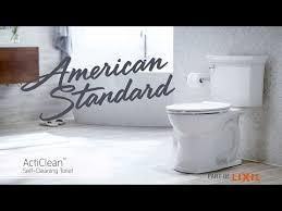 acticlean self cleaning toilet from