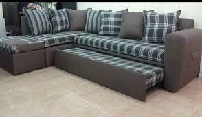modern l shaped sofa bed at rs