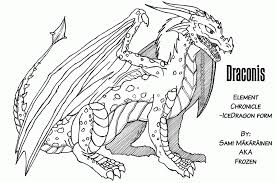 So we explored the fantasy world today, ready to go out of this world tomorrow? 13 Pics Of Cool Ice Dragon Coloring Pages Free Printable Dragon Coloring Home