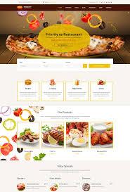 Restaurant Website Templates Beauteous 28 Entertainment Cafe And Restaurant Website Templates