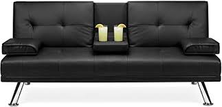 Best Choice Products <b>Faux Leather</b> Upholstered <b>Modern</b> ...