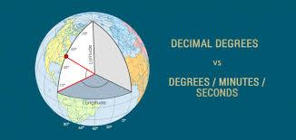 Degrees Minutes Seconds Dms Vs Decimal Degrees Dd Gis