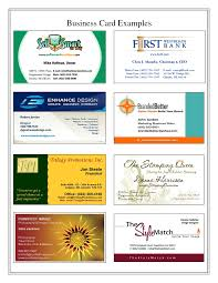cards business card examples business card examples uk