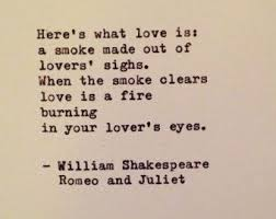 Romeo And Juliet Quote By William Shakespeare Typewritten Greeting