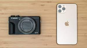 iPhone 11 Pro vs Compact Camera [ Canon G7X Mark III ] - YouTube