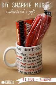 DIY Sharpie Mug Valentine Gift - My Sister\u0027s Suitcase - Packed ...