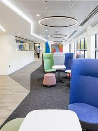 corporate office inspiration. Wonderful Corporate Blue Jelly Keltbray Office Design Workplace Commercial Corporate  Interiors  Intended Corporate Office Inspiration R