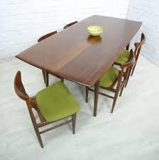 retro vintage teak mid century danish style dining table eames era retro round table and chairs