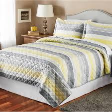 Mainstays Grey Stripe Quilt - Walmart.com &  Adamdwight.com