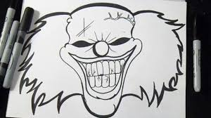 Comment Dessiner Un Clown Youtube
