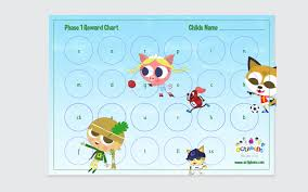 Reward Chart And Sticker Set Phase 1 Store Actiphons