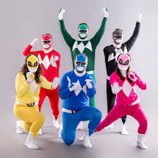 grab your squad and diy this classic 90s power rangers costume