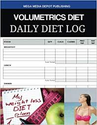 Volumetrics Diet Daily Diet Log Mega Media Depot