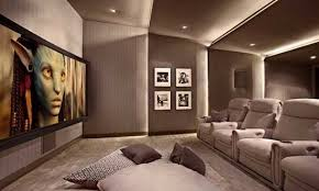 Small Picture Home Theater Interior Design Home Design Ideas