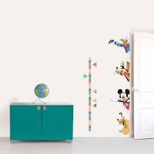 Disney Mickey And Goofy Wall Sticker Height Chart