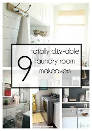 Easy Laundry Room Makeovers Diy Laundry Room Makeovers Anyone Can Do