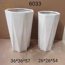 design outdoor big ceramic flower pots